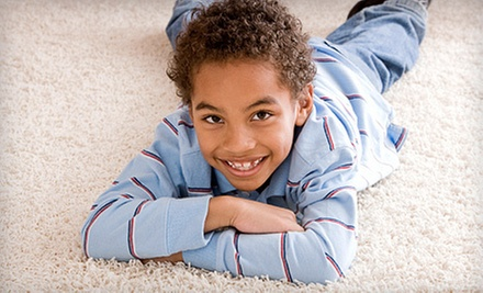 Carpet Cleaning in Up to Four Rooms or Hardwood Cleaning on Up to 100 Square Feet from The Clean Machine (Up to 58% Off)
