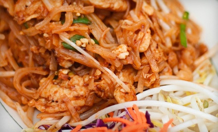$10 for $20 Worth of Thai Food at Bangkok Pavilion Restaurant