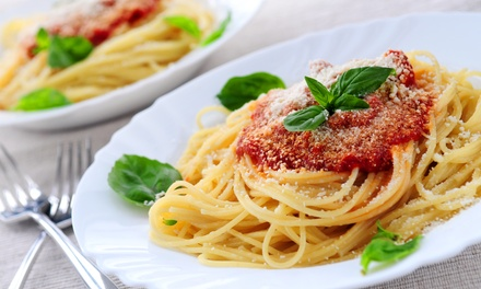 Dinner for Two or Four at Italian Villa Restaurant (Up to 45% Off)
