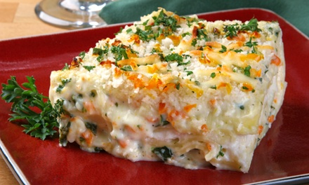 $13 for $20 Worth of Take-and-Bake Lasagna, Bread, Salads, and Desserts at Lasagna's On Ya