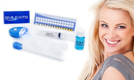 $29 for an Ultimate Teeth-Whitening Kit from Smile Kits ($169 Value). Shipping Included.