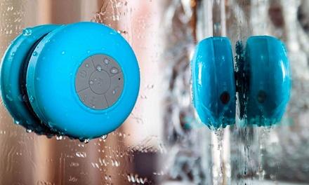 Altavoz bluetooth à prova de água por 19,90€