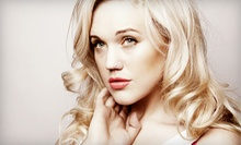 Haircut Package with Style, Conditioning Treatment, and Optional Highlights at 121 Main Place Hair Studio (55% Off)