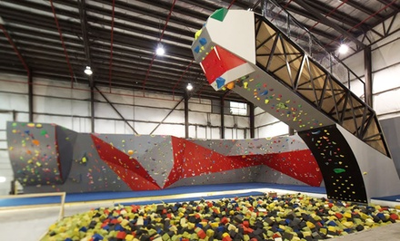 $29 for Indoor Rock Climbing at Hoosier Heights ($60 Value)