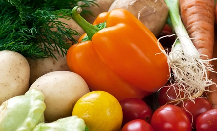 $11 for $22 Toward One Standard Box of Local, Certified Organic, Seasonal Produce from Good News Farm