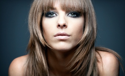 Haircut and Style with Option for Color, or a Chemical Relaxer Treatment at Allure Salon &amp; Spa (Up to 61% Off)