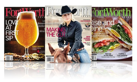 One- or Two-Year Subscription to Fort Worth, Texas Magazine (Up to 50% Off)
