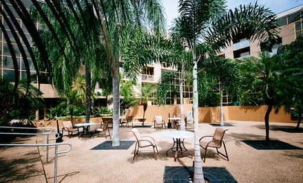 groupon daily deal - Stay at Sawgrass Grand in Fort Lauderdale, with Dates into May