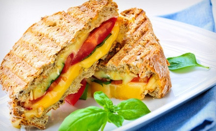 Caf Food at Aint She Sweet Cafe (Up to 56% Off). Three Options Available.
