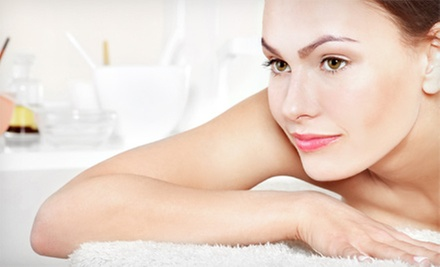 60-Minute Massage and Optional Vitamin C or Pore-Cleansing Facial at The Wellness Center of London Square(Up to 56% Off)