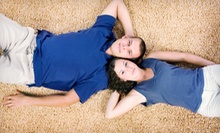 $49 for Green Clean Carpet Cleaning for Three Rooms from The Burns Clean Team ($197 Value)
