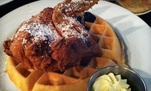 American Food at Tap's Pourhouse and Eatery (Up to 52% Off). Two Options Available