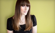 Cut, Color, and Blow-dry or Keratin Hair-Smoothing Treatment from Wendy Foster at Studio Hair Design (Up to 52% Off)
