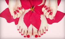 $12 for a Winter Wonderland Manicure with a Paraffin Treatment and Massage at Felicia's Fabulous Nails ($30 Value)