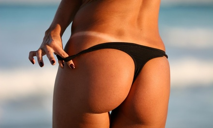 Up to 64% Off Spray Tanning at Happy Tanning