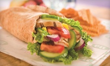Pita Meal for Two with Fountain Drinks or a 10-Pita Platter at Pita Pit (Up to 54% Off)