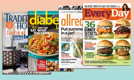 $5 for Magazine Subscription from Meredith Corporation (Up to $19.97 Value)