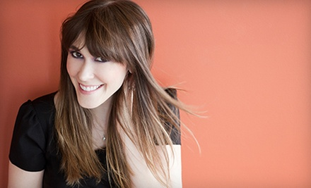 Haircut Package with Style and Optional Color or Highlights at Center Street Salon & Spa (Up to 55% Off)