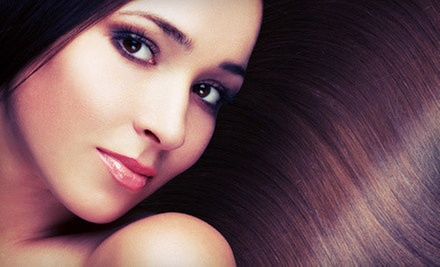 Cut with Color or Conditioning, or a Hair-Smoothing Treatment from Mindy Premo at Brenda Bennett Salon (Up to 72% Off)