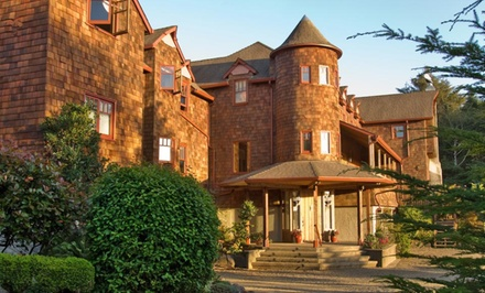groupon daily deal - 1- or 2-Night Stay for Two at Arch Cape Inn & Retreat near Cannon Beach, OR