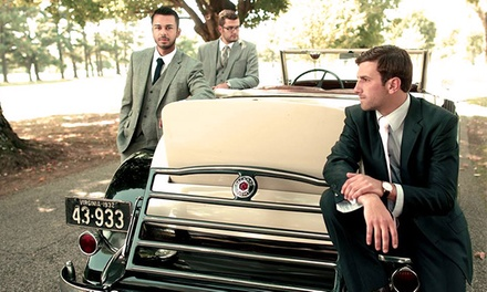Custom-Tailored Men's Shirts and Suits from Aspetto (Up to 67% Off). Three Options Available.