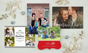 Custom Holiday Cards, Invitations, And Announcements From Simplytoimpress (up To 55% Off). Two Options Available.