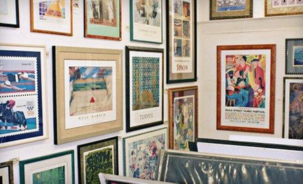 $39 for $100 Worth of Custom Framing at 1910 Frame Works