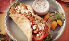 Three Sandwich Combo Meals or $10 for $20 Worth of Greek American Food at Midtown Grill