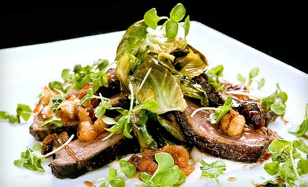 Upscale American Cuisine at Benjamin Brasserie (Half Off). Four Options Available.
