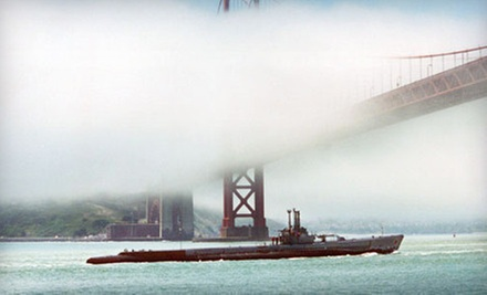 """USS Pampanito"" Historic Submarine Tour for Two Adults, Family of Six, or Up to 15 (Up to 63% Off)"