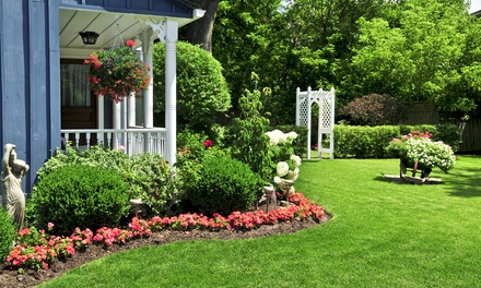 Full Weed-Control and Crabgrass Treatments for Lawn with Optional Fertilizer from Weed Man (Up to 82% Off)