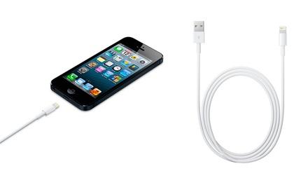 Cabo Lightning compatível com Apple de 1 ou 3 metros desde 4,90€