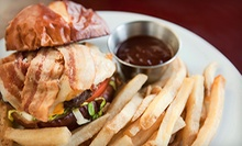 Burgers and Bar Food at Butch Cassidy's Cafe (Half Off). Two Options Available.