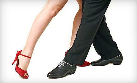 Date Night with Dance Lesson, Wine, and Cheese, or 5 or 10 Zumba Classes at La Luna Dance Studio (Up to 61% Off)