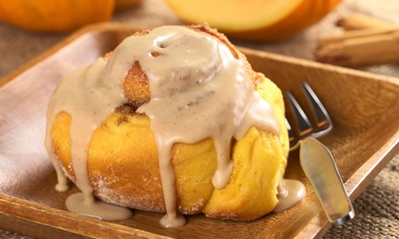 Cinnamon Rolls at Cinnaswirl Nashville (Up to 50% Off). Two Options Available.