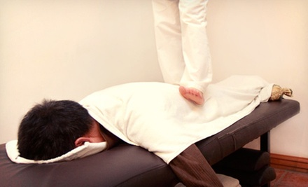 90- or 120-Minute Ashiatsu Massage at MG Massage (Up to 53% Off)