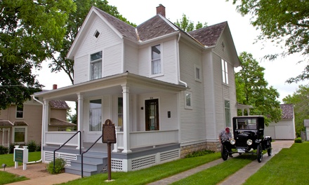 Visit with Gift-Shop Credit for Two or Four at Ronald Reagan Boyhood Home (Up to 53% Off)