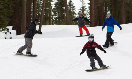 Snowboarding Packages or Skiing at Raging Buffalo (Up to 68% Off). Three Options Available