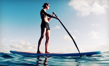 One-Hour Guided Stand-Up Paddleboard Tour for One, Two, or Four from XLKites (Up to 66% Off)