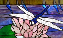 $49 for a Five-Week Beginners' Stained-Glass Class Plus $10 Toward Supplies at West of the Moon Art Glass ($110 Value)