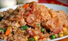 $10 for $20 Worth of International Cuisine at Just Fried Rice