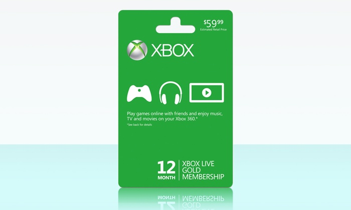 44 99 for 12 month xbox live gold membership groupon