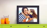 GROUPON:  93% Off a Customized Framed Canvas from FramedUp.com FramedUp.com