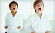One or Two Months of Tae Kwon Do Lessons with Uniform at Martial Arts Academy (79% Off)
