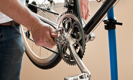 Basic or Complete Bike Tune-Up, or One Year of Tune-Ups for Two Bikes at The Bicycle Clinic (Up to 68% Off)