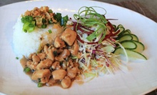 Healthful, Asian-Inspired Appetizer and Dinner Boxes for Two or Four at Wild Scallion (Up to 56% Off)