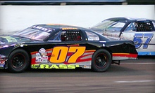 Race-Day Package for Two, Four, or Six at Holland NASCAR Motorsports Complex (Up to 56% Off)