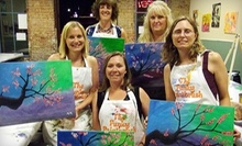 BYOB Painting Class for One, Two, or Four Adults at Picasso's Corner (Up to 60% Off)