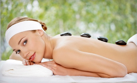 60- or 90-Minute Swedish or Hot-Stone Massage at Exhale (Up to 55% Off)