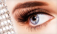 Lash Extensions with Optional Touchup, Hand Massage, and Brow Wax from Ngoc Le at Queen Nails Beauty Spa (Up to 57% Off)